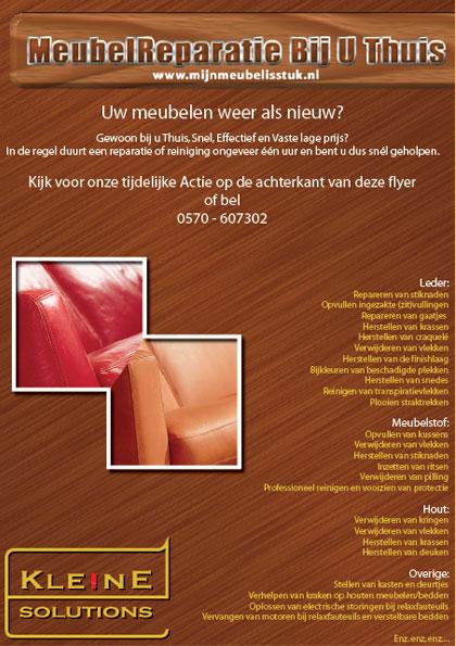 kleine-solutions-meubelreparatie-flyer