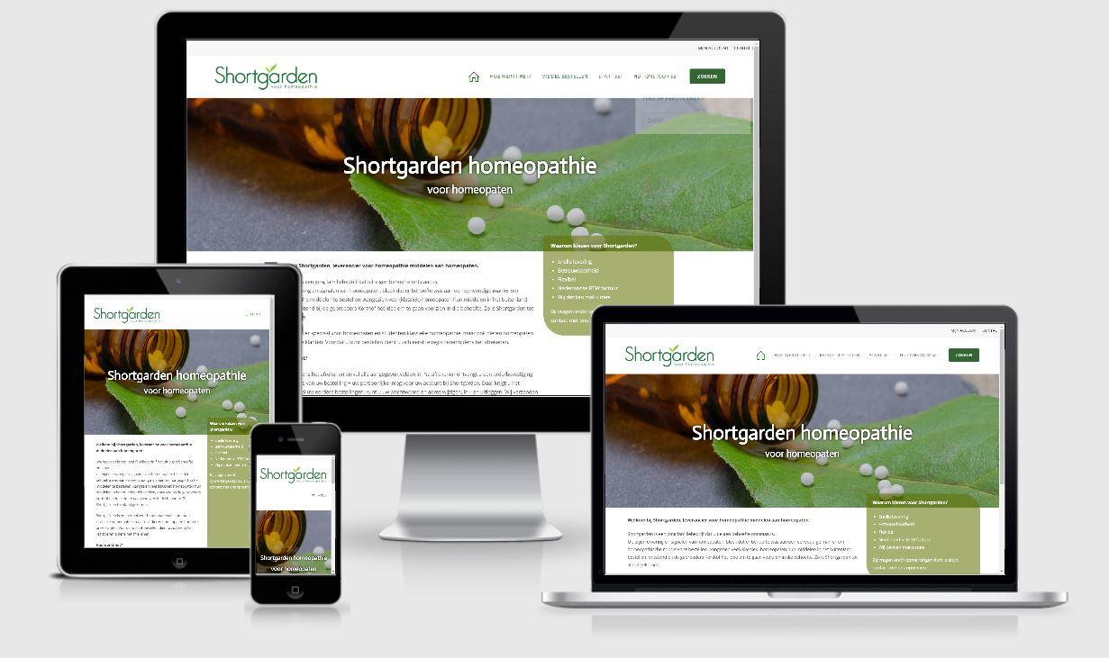 Shortgarden homeopathie webshop
